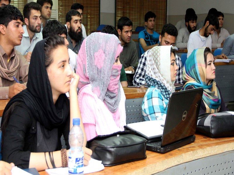 Orientation Day for Afghan Students